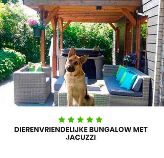 Vakantiepark met jacuzzi dierenvriendelijke